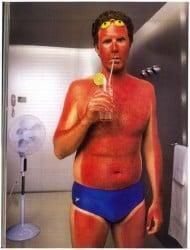 Aloe Vera Helps with sunburn