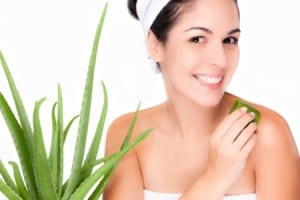 Aloe Vera is great for skin