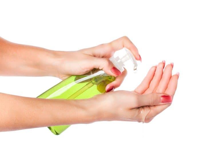 Anti-Viral Aloe Vera Hand Sanitizer