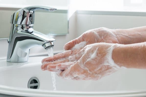 Hand Washing Prevents Virus Spread